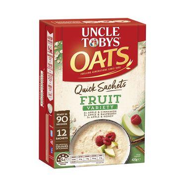 UNCLE TOBYS/托比叔叔  【多味可选】即食早餐代餐原味燕麦片 速食小袋装420g 澳大利亚进口 ENJOY LIFE