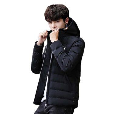 花花公子 棉服男冬新款保暖棉衣青年加厚运动服外套111