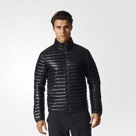 阿迪达斯 ADIDAS外套男运动户外轻便舒适夹克保暖压缩白鸭绒羽绒服BP9434