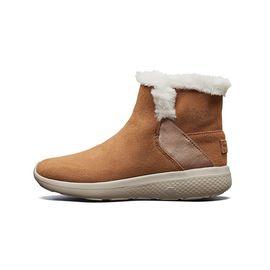 斯凯奇 Skechers 女鞋轻质毛里短靴 保暖时尚一脚套雪地靴 14635