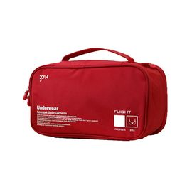 CTRIP 携程优品 旅行内衣收纳包 酒红色