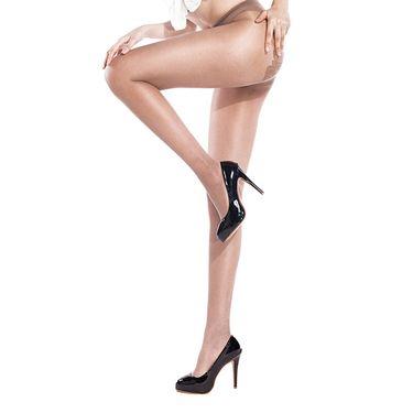 浪莎 丝袜 比基尼性感蝴蝶档连裤袜女超薄情趣丝袜六双装