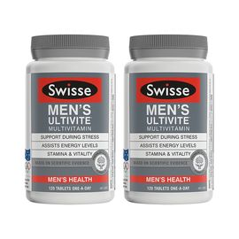 Swisse 【双瓶特惠】男士复合维生素 120片/瓶