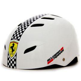 Ferrari 麦斯卡法拉利轮滑护具儿童自行车头盔轮滑头盔滑行车头盔平衡车