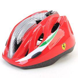 Ferrari 麦斯卡法拉利儿童轮滑头盔安全帽护具装备初学者防护可调节男女