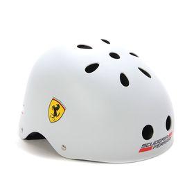 Ferrari 麦斯卡法拉利轮滑防护头盔儿童运动安全头盔初学者头盔男女安全帽