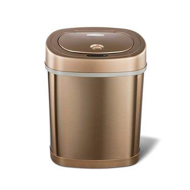 NINESTARS 纳仕达  不锈钢感应智能垃圾桶15L DZT-15-10