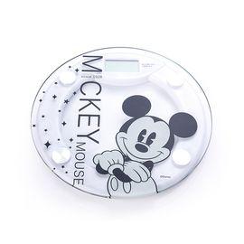 迪士尼 米奇黑白经典电子秤 25.5×25.5×2.75cm DSM-9026
