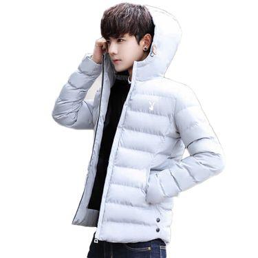 花花公子 保暖棉服运动服运动外套男士修身户外加厚保暖衣222