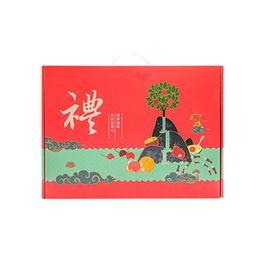 花果鲜 【年货礼盒】水果礼盒D套餐 (金奇异果+牛油果+17.5°橙+阿克苏+沃柑)