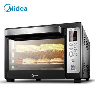 美的MIDEA T7-L384D 家用多功能烤箱 智能电烤箱 38升大容量 小京鱼App控制