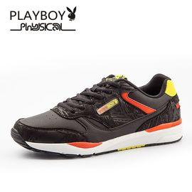 花花公子 运动鞋男潮鞋时尚帆布鞋子男士运动休闲鞋韩版板鞋男