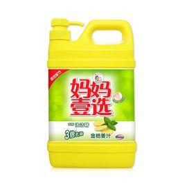 威露士 黄瓶妈妈壹选洗洁精金桔姜汁1.388kg 单瓶装