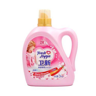 威露士 卫新清怡樱花衣物护理剂金装3kg柔顺剂  单瓶装