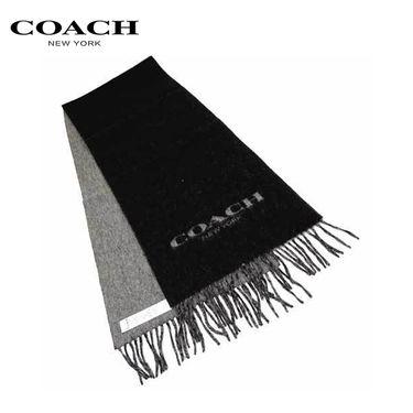 COACH 蔻驰男女同款围脖羊毛秋冬双面围巾