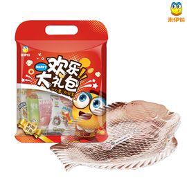 来伊份 年年有余欢乐大礼包 年货礼配鱼造型零食果盘一套