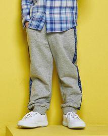 迪士尼【唯品会】小熊维尼新款童装男童休闲针织裤