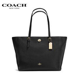 COACH 蔻驰(COACH)时尚女士手提包单肩包时尚女包  黑色 洲际速买