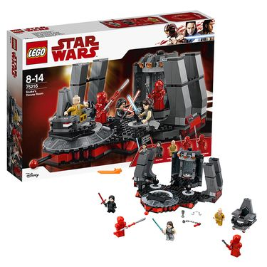 LEGO 乐高 新球大战系列第一秩序王座大决战 75216
