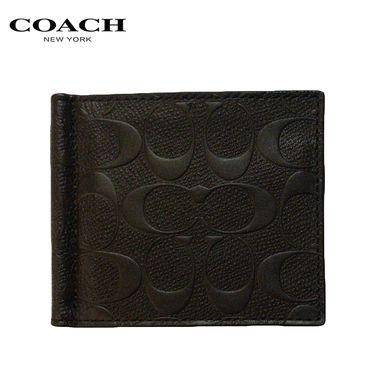 COACH 蔻驰(COACH)男士短款对折钱包