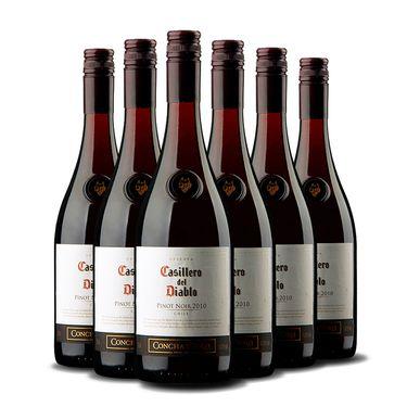 干露  也买酒 红魔鬼 黑皮诺 红葡萄酒 750ml *6瓶