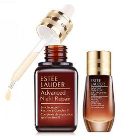 Estee Lauder /雅诗兰黛  小棕瓶精华50ml+密集修护眼精华15ml 美国进口 持久滋润 Star Beauty