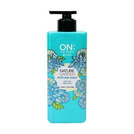 LG ON THE BODY 韩国进口 自然花园香氛沐浴露 500ML 水嫩保湿  UTAOMALL