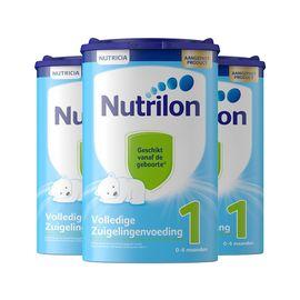 Nutrilon/诺优能  牛栏  婴幼儿奶粉 1段  800g   荷兰进口 助宝宝健康成长 CST购