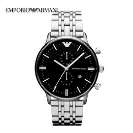 EMPORIO ARMANI 阿玛尼手表  男士腕表商务休闲石英表钢带防水