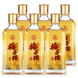 五粮液 集团 仙林梅子酒 38度 100ml*6瓶装 裸瓶 包邮