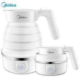 美的MIDEA 电水壶 食品级硅胶 折叠水壶 烧水壶 电热水壶 旅行携带 智能防干烧 SH06Simple101