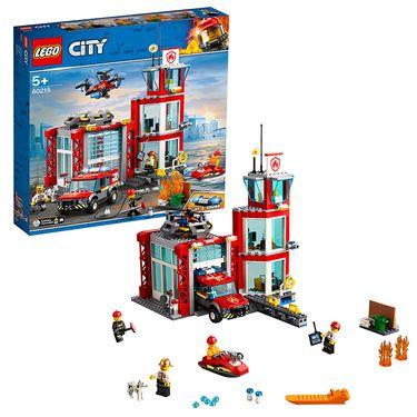 乐高 (LEGO)积木 城市组系列City消防局5岁+ 60215 儿童玩具 2019年新品