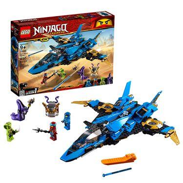 乐高 (LEGO)积木 幻影忍者Ninjago雷电忍者杰的暴风战机9岁+ 70668 儿童玩具 2019年新品