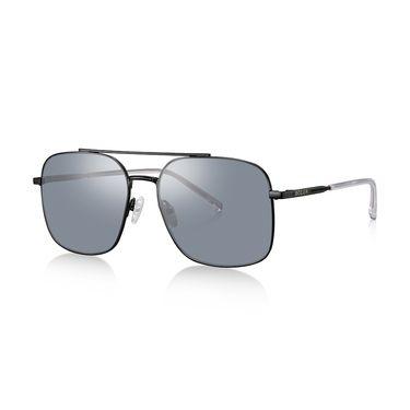 暴龙 BOLON暴龙飞行员框偏光太阳镜男士蛤蟆镜复古墨镜开车眼镜BL7023