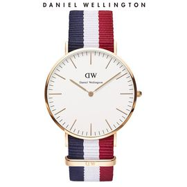 Daniel Wellington 丹尼尔惠灵顿(DanielWellington)DW手表男表40mm表盘尼龙带超薄石英表