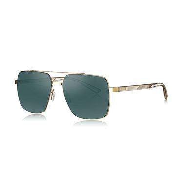 暴龙 BOLON暴龙方形偏光蛤蟆镜男士飞行员框太阳镜墨镜开车眼镜BL8032