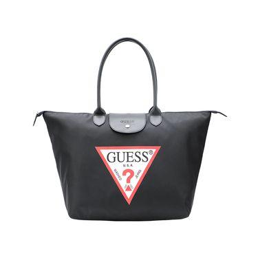 Guess 盖尔斯 新款时尚女士手提包手拎包单肩包可折叠包袋