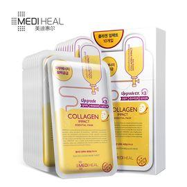 美迪惠尔 /MEDIHEAL可莱丝胶原蛋白面膜贴10片 弹润紧致 保湿滋润