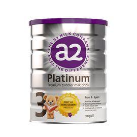 A2 (3罐)婴幼儿奶粉3段900g白金版 澳洲进口 美易在线