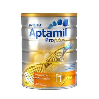 aptamil/爱他美 1段(0-6个月)白金版婴幼儿牛奶粉900g 澳洲进口益生元配方 美易在线