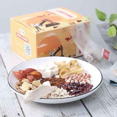 瑰觅 红豆薏米芡实茶100g 薏仁茶 红薏米红豆茶 芡实茶 大麦茯苓陈皮袋泡茶