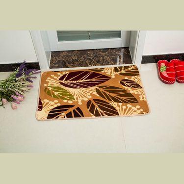 嘉若彤 加厚防滑珊瑚绒地毯地垫门厅门垫脚垫浴室卫生间卫浴防滑垫地毯垫