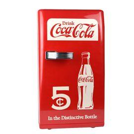 可口可乐 12L车载冰箱车家两用迷你小冰箱家用小型宿舍制冷冷藏箱