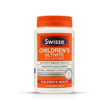 Swisse 澳洲进口儿童复合维生素120粒/瓶  IVY