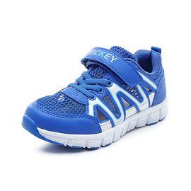 百丽 Disney迪士尼童鞋夏季新款男童大童运动鞋儿童跑步鞋S73724