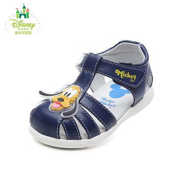 百丽 迪士尼童鞋幼童凉鞋夏季新款男童包头宝宝鞋女童学步鞋儿童鞋DH0332
