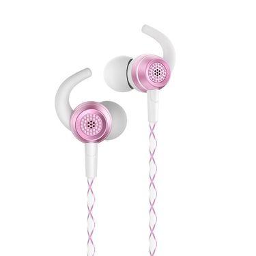 机乐堂 Joyroom/机乐堂新款E206重低音适用苹果耳机铝合金外壳入耳式有線耳機