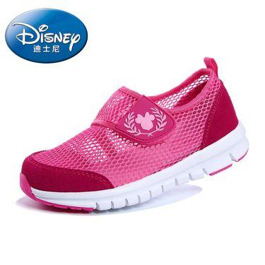 百丽 迪士尼童鞋夏季新款夏季网鞋儿童运动鞋户外魔术贴透气旅游鞋DS0956