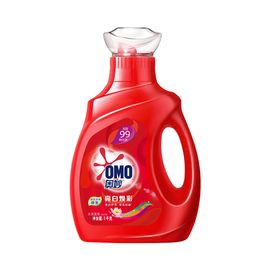 奥妙 亮白焕彩【天然酵素】洗衣液 水清莲香 1KG/瓶
