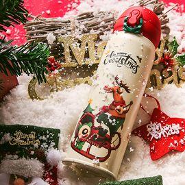 杯具熊 2019圣诞主题成人保冷保温杯480ml 316不锈钢圣诞礼物 保温杯水杯车载杯 情人节礼物全积分兑换  - 圣诞舞会